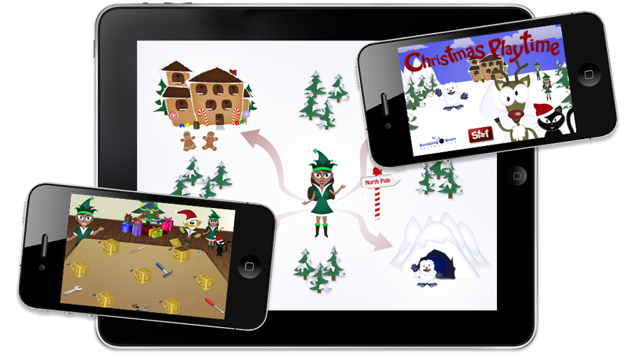 Christmas Playtime on iPad and iPhone