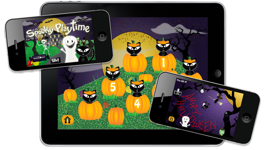 spooky playtime on iPad and iPhone